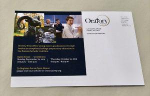 Oratory Mailer
