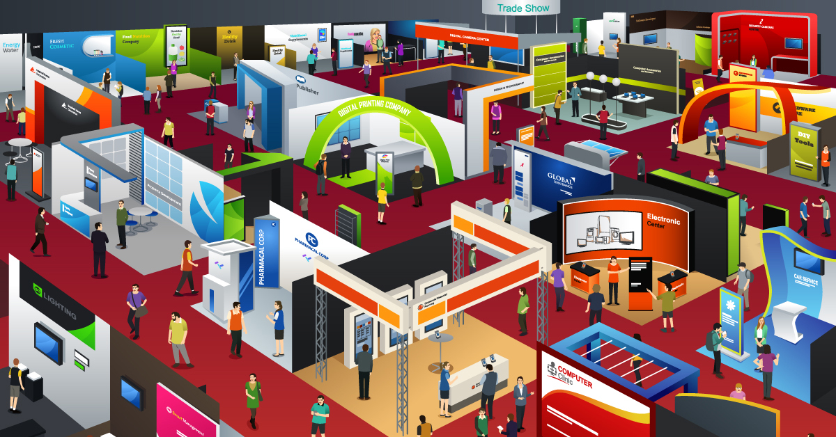 Tradeshow Illustration